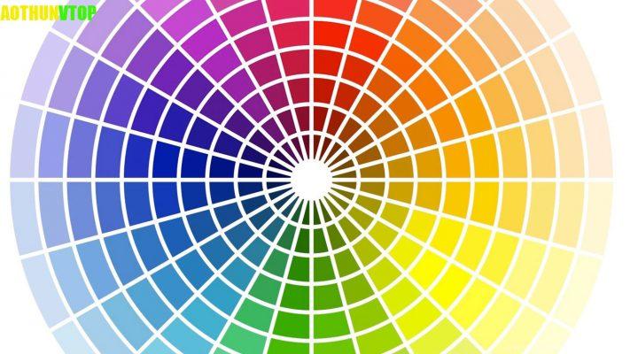 bánh xe màu sắc trong thiết kế