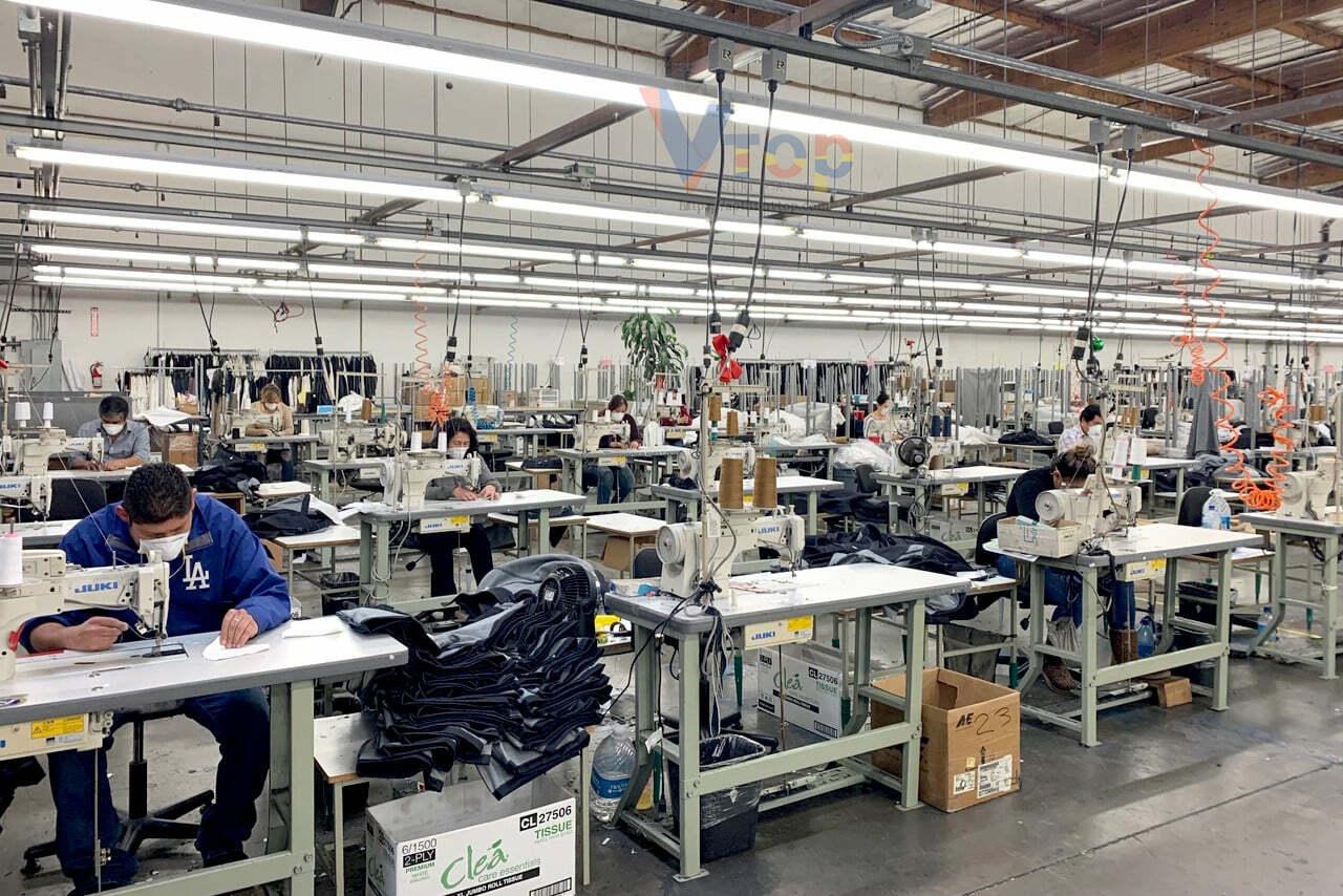 xưởng may chuyên sản xuất áo thun