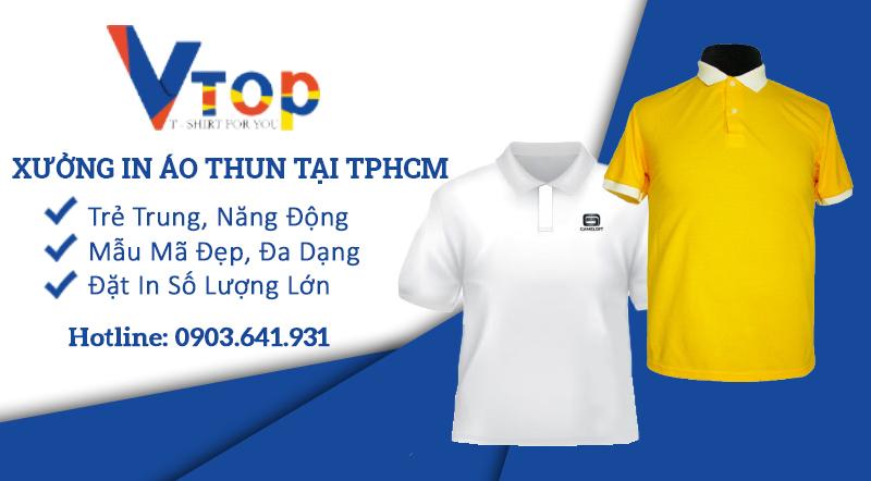 xưởng in áo thun ở tphcm