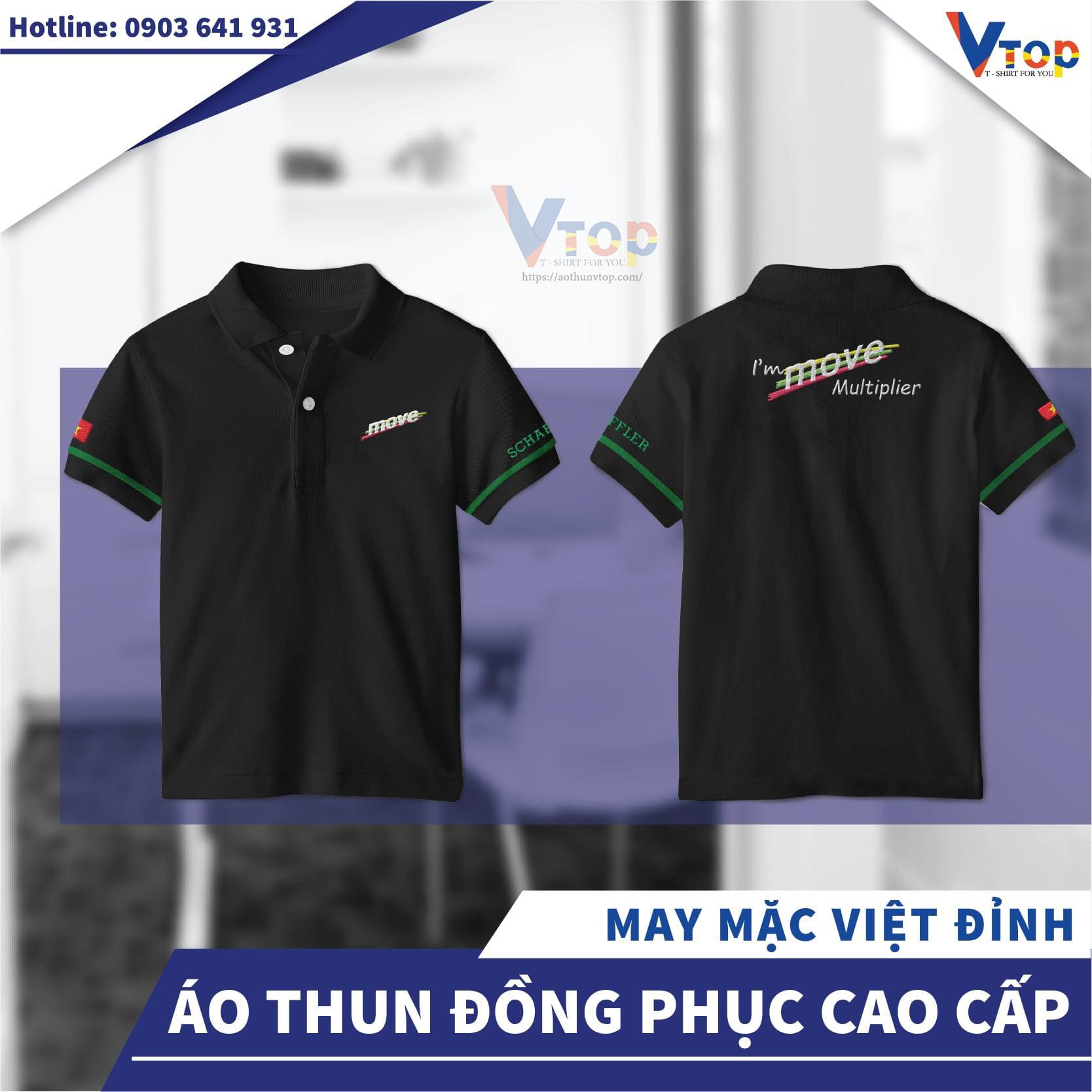 Dịch vụ in áo thun theo yêu cầu của Aothunvtop