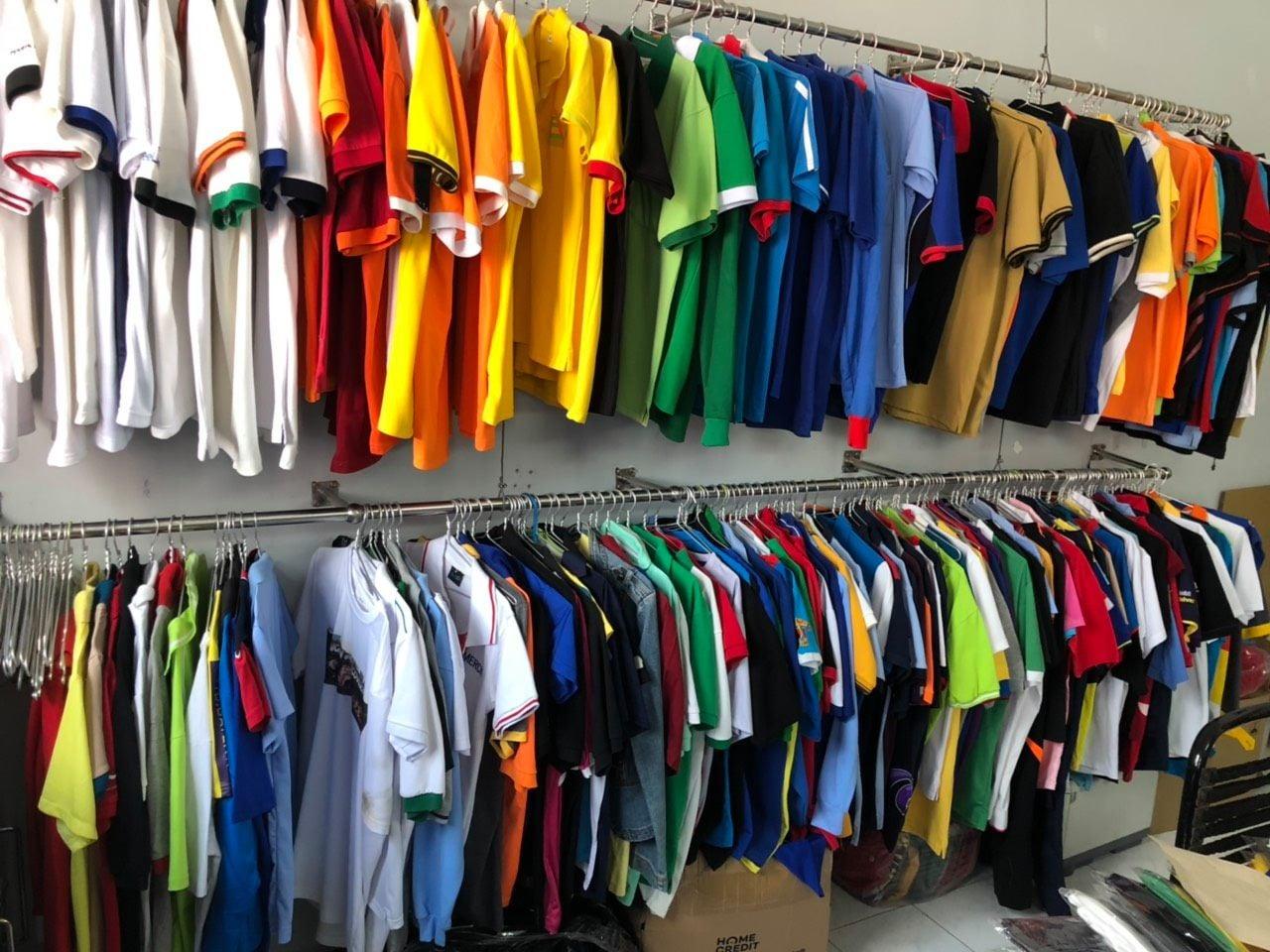 Xưởng may áo thun nam nữ giá Sỉ tại TP.HCM