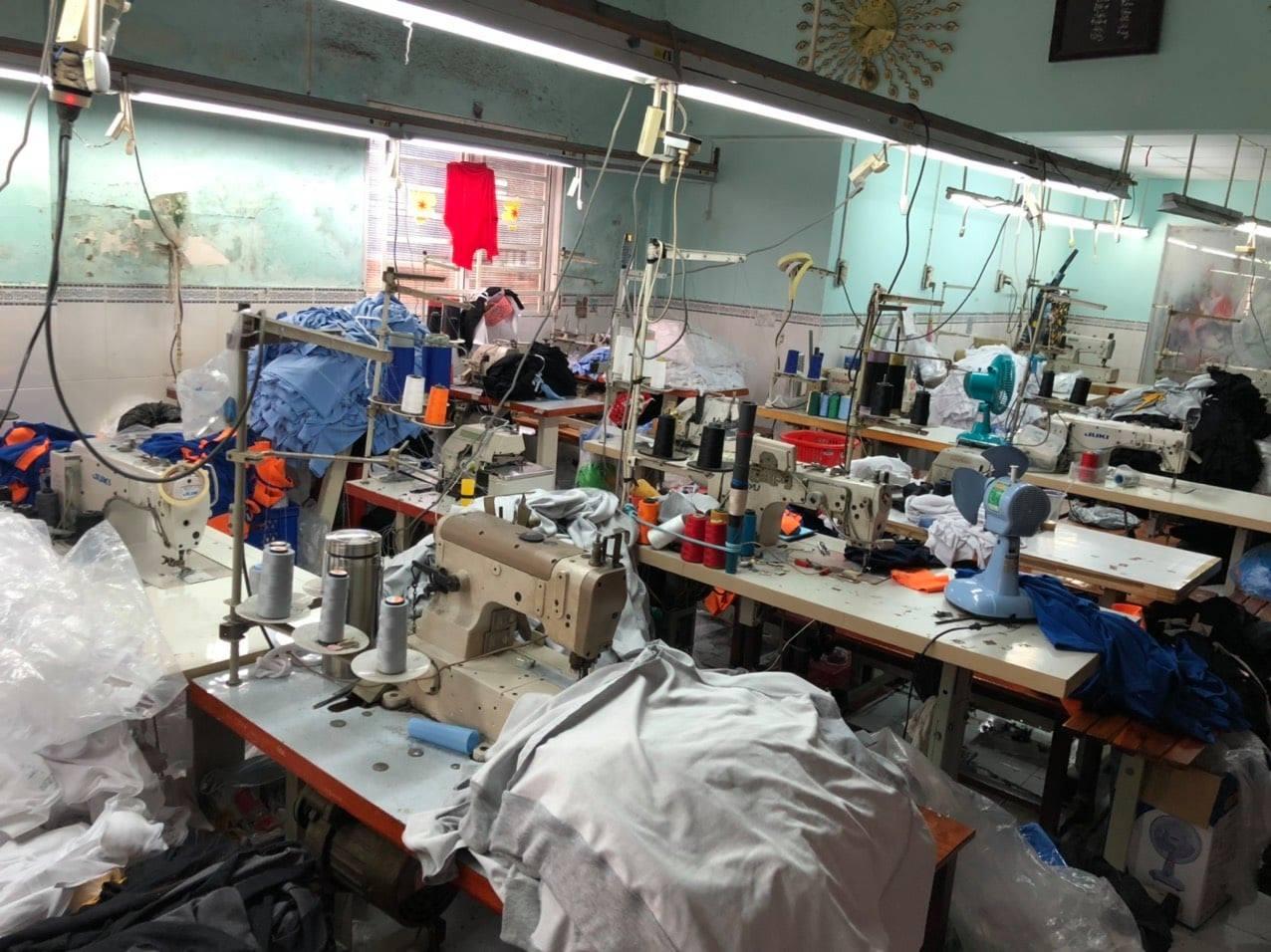 xưởng may áo thun sỉ rẻ đẹp nhất TPHCM