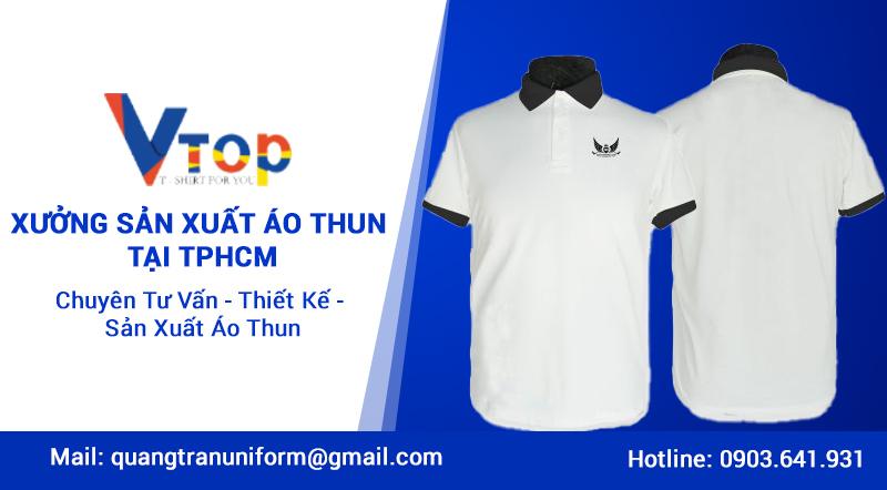 xưởng sản xuất áo thun hcm