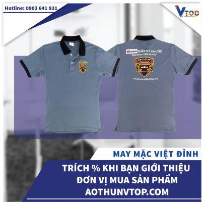 Bảng giá áo thun đồng phục (may, in, thuê) tại TpHCM 2021 | Aothunvtop