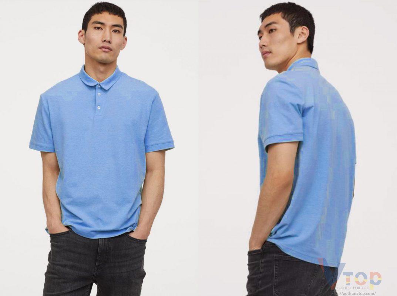 Áo xanh dương phối quần màu gì