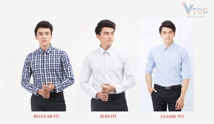 Các form áo phổ biến nhất hiện nay