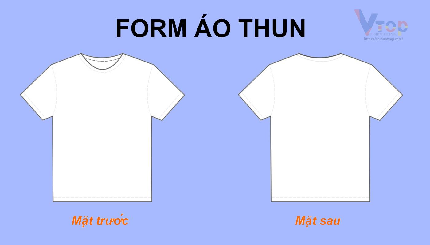 Chọn size áo thun