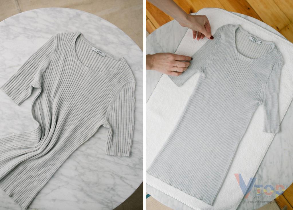 Cách làm áo thun co lại phổ biến nhất