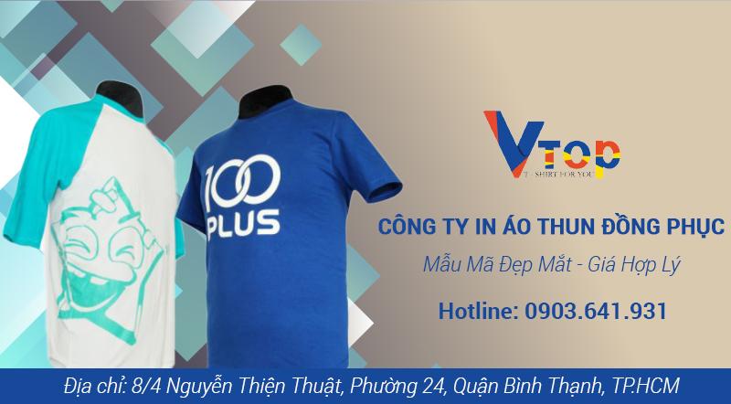 công ty in áo thun đồng phục giá rẻ chất lượng tại TpHCM