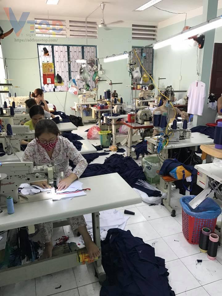 công ty may áo thun đồng phục học sinh