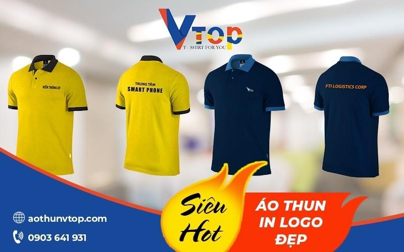 Bảng giá áo thun in logo tại Aothunvtop