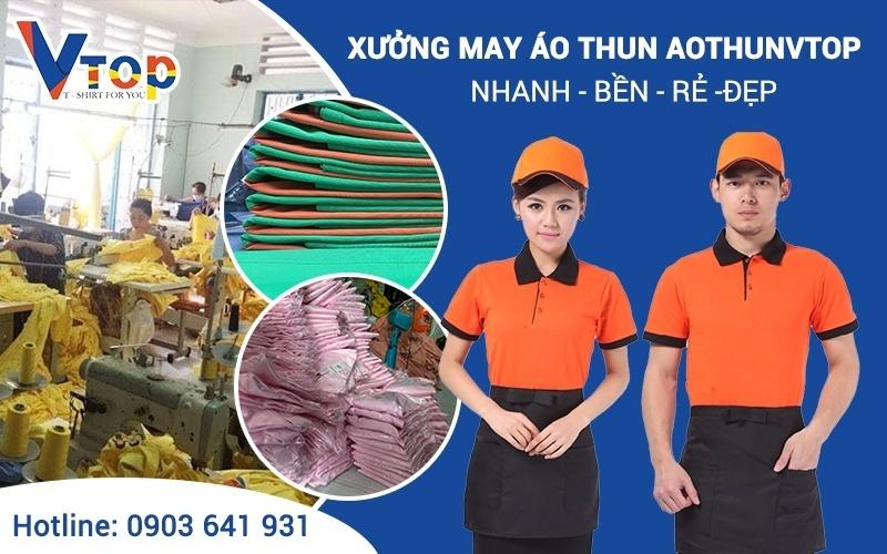 Quy trình sản xuất quần áo thun chi tiết