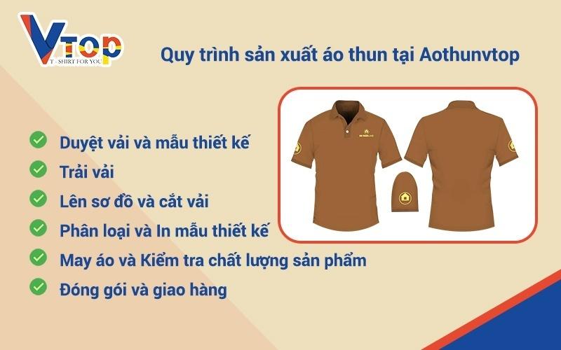 Quy trình sản xuất quần áo thun CHI TIẾT: may áo