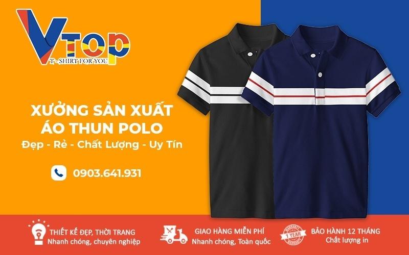 nơi sản xuất đồng phục áo thun Polo chất lượng