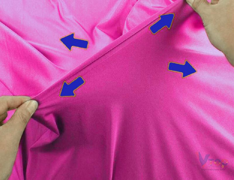 cách làm áo thun rộng ra