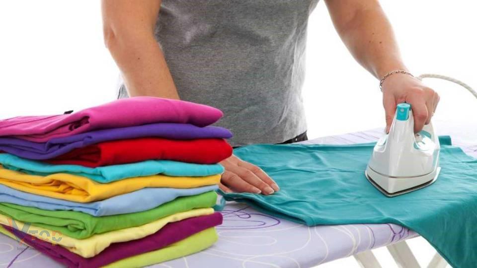 Cách ủi áo thun phẳng đẹp hiệu quả