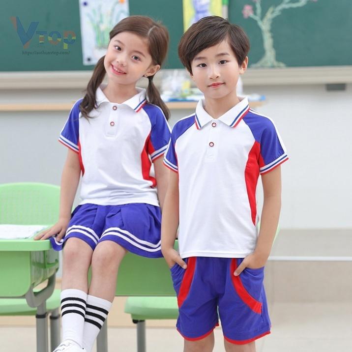Size áo đồng phục phù hợp với bé