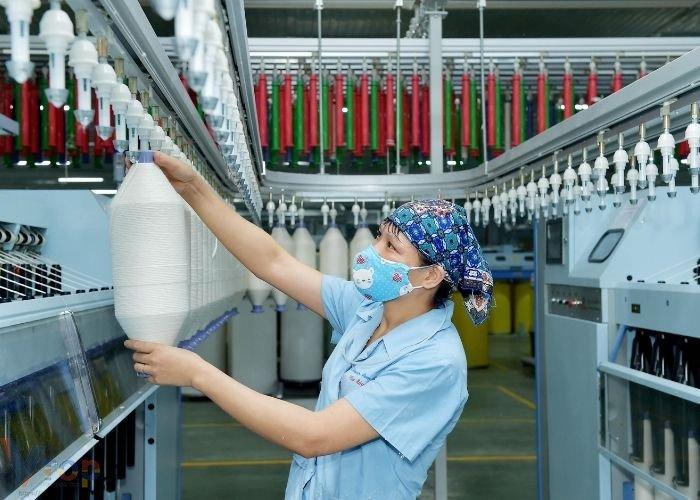 Quy trình dệt và nhuộm vải thông thường